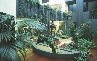 Selon les professionnels du secteur, l'aménagement d'espaces verts permet aux entreprises de créer un cadre de travail agréable. Un poste de dépenses non remis en cause par le contexte économique actuel.