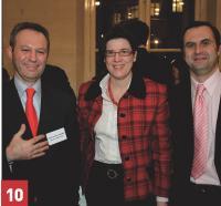 La direction achats de Carbone Lorraine, aux côtés de Jean-Christophe Alvergne (à droite, Lagardère Active)