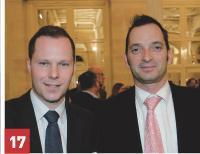 Guy Courtois (Factea) et Olivier Quintin (Schindler France).