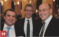 Stéphane Krampner, Olivier de Cassan (SynerTrade), et Emmanuel Erba (SFR).