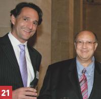 Hervé Lenglart (Editialis) et Wafik Azmi-Salib (Club Méditerranée).