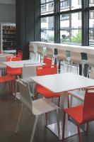 Le mobilier de restauration devient design