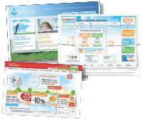 Les fournisseurs alternatifs se servent de leur site web pour vanter les économies potentielles de leurs offres.