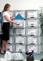 Les produits de rangement et d'archivage en carton «R-Kive» de Fellowes sont fabriqués entièrement à partir de matière recyclée. Et eux-mêmes recyclables.