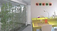 Cloisons végétales pour isoler les lieux de travail ou décorations murales «tendance» : tout est fait pour améliorer le confort visuel des collaborateurs.