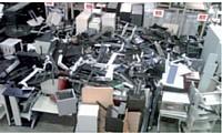 Pour le recyclage du matériel, plus le poids est important, plus la facture est légère.