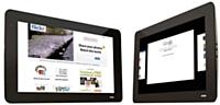 Conçue pour les personnes qui passent beaucoup de temps sur le Web, la tablette JooJoo de Fusion Garage dispose du fameux port USB qui fait défaut à l'iPad. A partir de 300 euros HT.