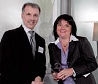 Christophe Garcia, directeur des ventes France Corporate de National Citer et Géraldine Olivier, directeur achats du groupe Canal +.
