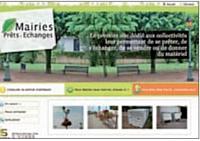 Si Moyennant un abonnement annuel, le site facilite les échanges de matériel entre les mairies.