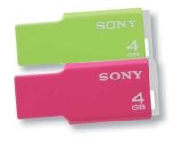 Les nouvelles clés USB de Sony sont ludiques et légères!