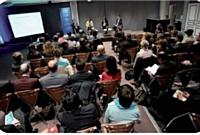 Près d'une centaine d'acheteurs assistaient à ce débat, auquel participaient Jean-Luc Baras (Eiffage), Hugues de Sazilly (Faiveley) et Françoise Odolant (médiation inter-entreprises).
