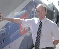 Alain Barbey, p-dg de TGV Lyria