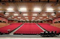L'auditorium de l'oceanarium du Parc des Nations.