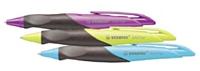 L'Easy gel de Stabilo est équipé d'une zone grip anti dérapante conçue pour les droitiers et les gauchers.