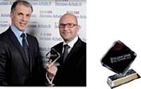 François Huon, directeur achats du groupe JCDecaux et Christophe Garcia (à gauche), directeur des ventes corporate de National Citer France.