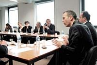 La table ronde «Achats de prestations marketing: duel ou duo?» s'est déroulée le 15 novembre 2011 chez Editialis.
