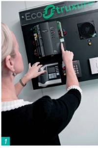 Avec la solution EcoStruxure, Schneider contrôle en temps réel la température, l'éclairage et les stores.