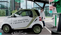 Les collaborateurs peuvent recharger leurs véhicules électriques aux bornes dédiées.