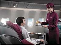 Désormais, chez Qatar Airways, les passagers de la classe affaires peuvent surfer sur le Net.