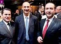 3 Franck Gareau (Defigraph), Eric Drouhin (Techniplan) et Patrice Benitsa (Electrogeloz)