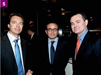 5 Stéphane Birochau, Bertrand Mabille et Floyd Widener (Carslon Wagonlit Travel)