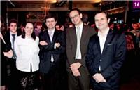 16 Catherine Blachon (France Télévisions), Olivier Debargue (France Télévisions), Kim Pham (France Télévisions), Jean-Christophe Alvergne (Lagardère Active)