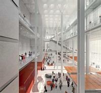 Le projet du palais de Justice de Paris, réalisé dans le cadre d'un PPP avec Bouygues Bâtiment Ile-de-France.