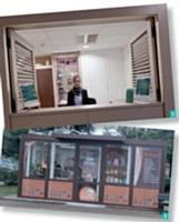 1 La conciergerie de BNP Paris real Estate et 2 la conciergerie Easylife.