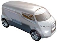 Tubik, un minivan aux lignes audacieuses esquissé par Citroën qui devrait faire parler de lui.