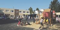L'école de Mouilleronle-Captif, en Vendée, a fait construire 477 m2 de bâtiments modulaires.