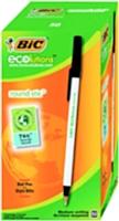 Le fabricant de stylos Bic a lancé cette année sa gamme Bic Ecolutions conçue à base de plastique recyclé.
