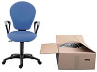 Chez Sokoa, les sièges de bureau sont livrés en kit ou semi-montés. Résultat, le packaging par siège est réduit de 0,47 m3.