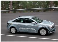 La future Opel Ampera, l'une des rares familiales tout-électrique.