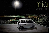 58 Mia, des petites citadines électriques, ont été mises à disposition dans le cadre du projet d'autopartage en libre service à Nice.