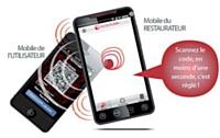 Resto Flash innove avec les titres restaurant numériques sur mobile