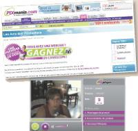 Pour encourager les internautes à déposer leurs commentaires, Pixmania a mis en place un concours mensuel.