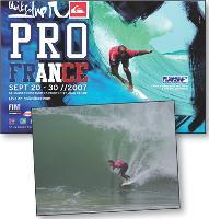 Le site a été inauguré lors de championnats de surf à Biarritz, en septembre.