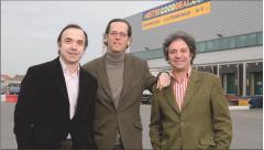 L'équipe de direction de Mistergooddeal: (de gauche à droite) Nicolas Berloty, Guillaume Clavel, François Lucian.