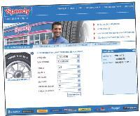Sur le Web, les pneus Speedy sont vendus 10% moins cher que dans les réseaux.