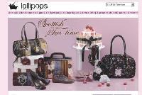 Avec ses silhouettes de pin-up et sa couleur rose flashy, le site reprend les codes de la marque.