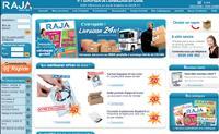 De l'adhésif aux machines à affranchir, le site reprend les 8500 références du catalogue.