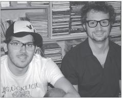 Pour Ilan Daddad (à g.) et Olivier Sales, «le son a toute sa place dans le processus créatif».