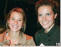 18- Elodie Gentil (Extrême Agency) et Charlotte Vitoux (Planète Interactive).