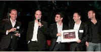 Luc Veuillet (MMA), Christophe Léon, Frédéric Adda (voyages-sncf), Sébastien Berten et Romain Landsberg (Backelite)