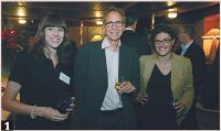 1- Gaëlle Renouvel (E-commerce magazine), Thierry Letellier (Ogone), Martine Fuxa (E-commerce Magazine)