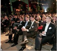 5- Plus de 450 professionnels ont assisté à la soirée.