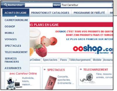 Carte Fidelite Carrefour Ooshop.Carrefour Repart A La Conquete D Internet