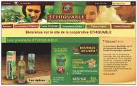 La coopérative Ethiquable s'appuie sur le Web pour rendre accessibles ses produits éthiques.