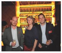 Cyril Toulet (Zanox), Christine Lorimy (ColiPoste) et Grégoire Cléry (Editialis)