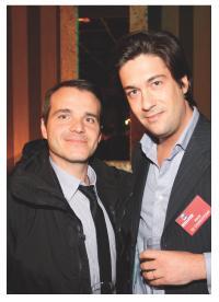 Alexis de Charentenay (Cybermonday, Malinea) et Frank Desvignes (BNP Paribas)